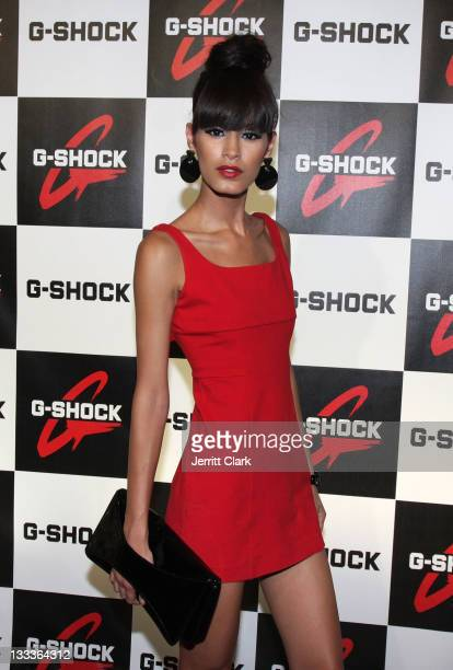 Model Jaslene Gonzalez attends the Casio GShock 'Shock The World Tour' at Cipriani Wall Street on August 5 2009 in New York City