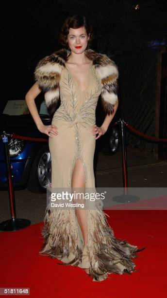 """Model Jasmine Guinness attends the 10th annual British Red Cross ball, """"Yaksha -Yakshi: Doorkeepers To The Divine"""", at The Room, Upper Ground on..."""