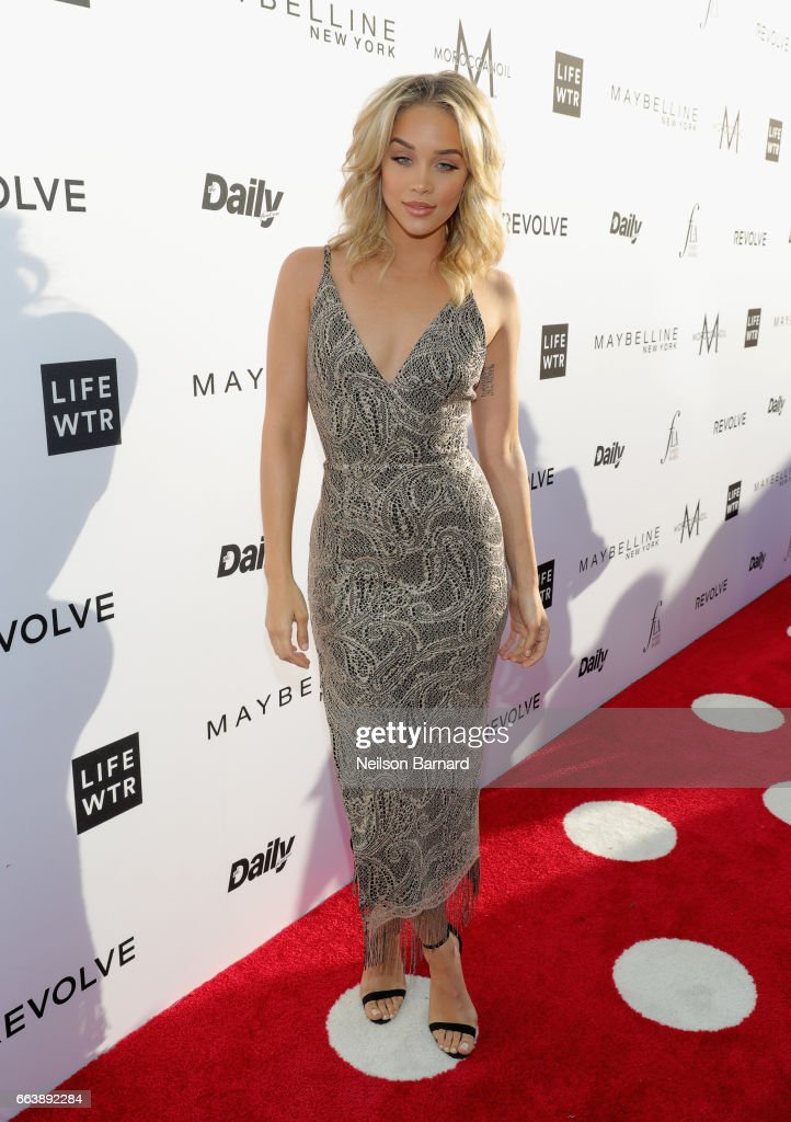 Model Jasmine Sanders attends the Daily Front Row's 3rd Annual Fashion Los Angeles Awards at Sunset Tower Hotel on April 2, 2017 in West Hollywood, California.