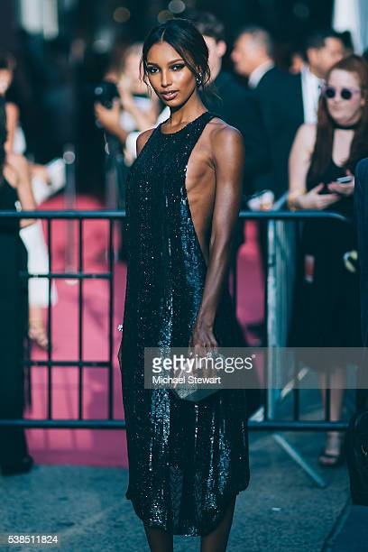 Model Jasmine Tookes attends the 2016 CFDA Fashion Awards at the Hammerstein Ballroom on June 6 2016 in New York City