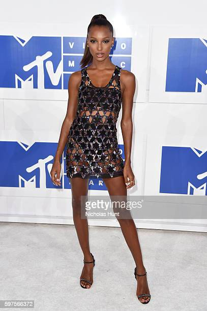 Model Jasmine Tookes attends the 2016 MTV Video Music Awards at Madison Square Garden on August 28 2016 in New York City