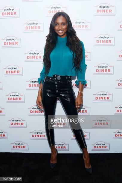 Model Jasmine Tookes visits the Shopbop Diner on September 6 2018 in New York City
