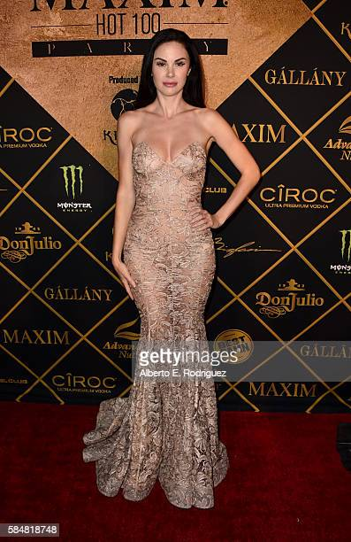 Model Jayde Nicole attends the Maxim Hot 100 Party at the Hollywood Palladium on July 30 2016 in Los Angeles California