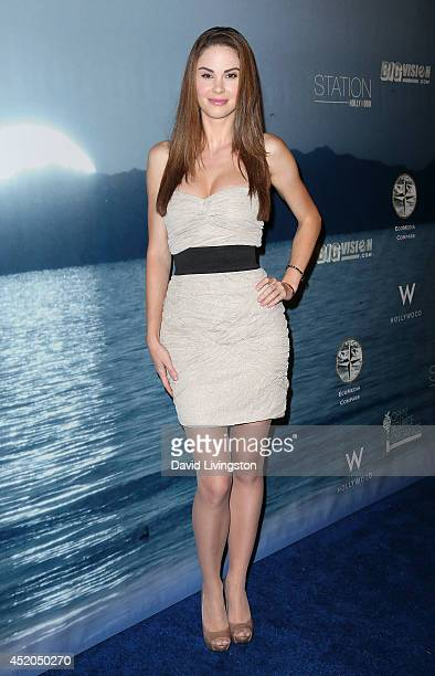 Model Jayde Nicole attends the Save Our Sea event at W Hollywood on July 11 2014 in Hollywood California