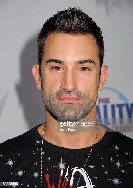 Model Jeff Pickel arrives at the Fox Reality Channel's Really Awards held at Avalon Hollywood on September 24 2008 in Hollywood California