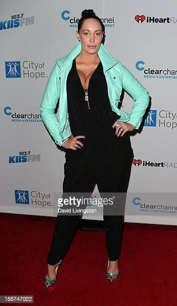 Model Jenna Bentley attends City of Hope's music and entertainment industry John Ivey roast at the House of Blues Sunset Strip on November 7 2012 in...