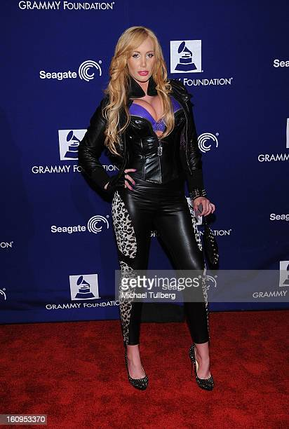Model Jenna Bentley attends the 15th Annual GRAMMY Foundation Music Preservation Project's Play It Forward A Celebration Of Music's Evolution And...