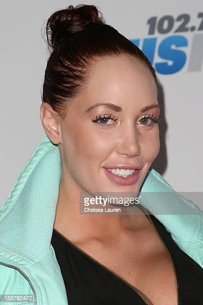 Model Jenna Bentley attends the City of Hope's Fifth Annual MEI Comedy Roast Honoring Clear Channel's John Ivey at House of Blues Sunset Strip on...