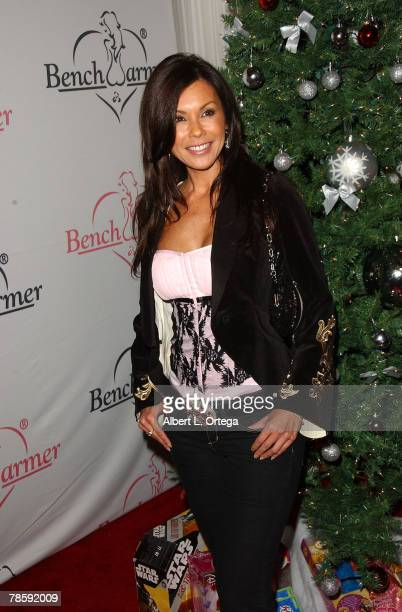 Model Jennifer Braff attends the Second Annual Bench Warmers Trading Cards Holiday Party and Toy Drive benefitting Toys ForTots on December 18 2007...