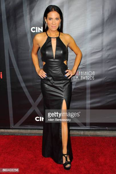 Model Jennifer Dorogi attends the 4th Annual CineFashion Film Awards at El Capitan Theatre on October 8 2017 in Los Angeles California