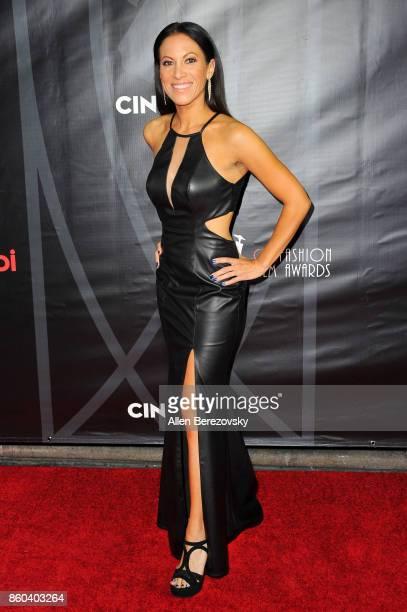 Model Jennifer Dorogi attends the 4th Annual CineFashion Film Awards at El Capitan Theatre on October 8, 2017 in Los Angeles, California.