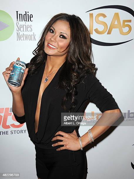 Model Jennifer Irene attends 5th Annual Indie Series Awards held at El Portal Theatre on April 2 2014 in North Hollywood California