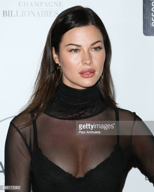 Model Jenny Watwood attends the launch of FENTY PUMA By Rihanna A/W 2017 Collection Arrivals at Madison Beverly Hills on September 27 2017 in Beverly...
