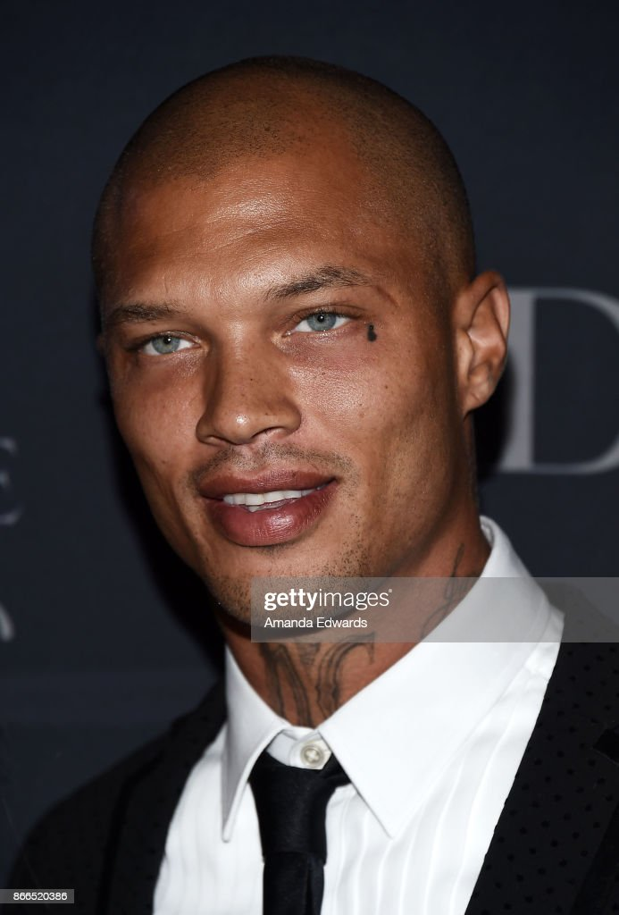 Model Jeremy Meeks arrives at the 2017 Princess Grace Awards Gala at The Beverly Hilton Hotel on October 25, 2017 in Beverly Hills, California.