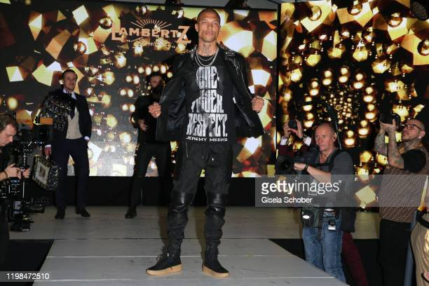 """Model Jeremy Meeks during the Lambertz Monday Night 2020 """"Wild Chocolate Party"""" on February 3, 2020 in Cologne, Germany."""
