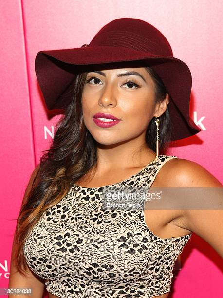 Model Jessenia Vice attends the Us Weekly's Most Stylish New Yorkers Party at Harlow on September 10 2013 in New York City