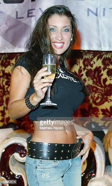 Model Jessica Canizales appears at the the launch of 'Excitenite The Next Level In Nightlife Entertainment' at Show April 1 2003 in New York City