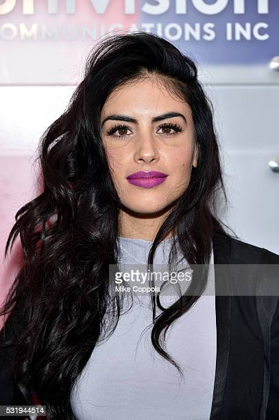 Model Jessica Cediel attends Univision's 2016 Upfront Red Carpet at Gotham Hall on May 17 2016 in New York City