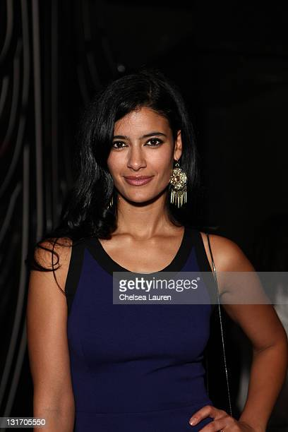 Model Jessica Clark attends POWER UP's 11th annual power premiere honoring amazing gay women and men in showbiz at Eden on November 6 2011 in...