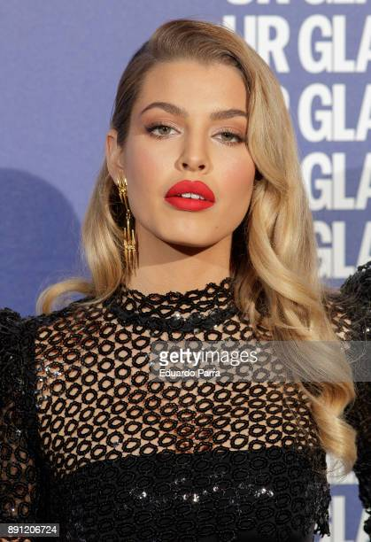 Model Jessica Goicoechea attends the Glamour Magazine Awards photocall at Ritz hotel on December 12 2017 in Madrid Spain