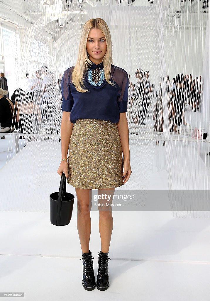 Delpozo - Front Row - September 2016 - New York Fashion Week
