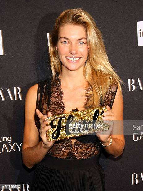 Model Jessica Hart attends Harper's Bazaar Celebrates ICONS by Carine Rotifeld at The Plaza Hotel on September 5 2014 in New York City