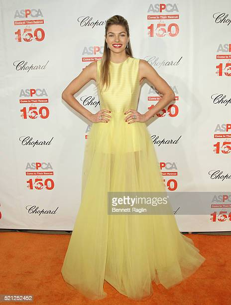 Model Jessica Hart attends the 19th Annual ASPCA Bergh Ball at The Plaza Hotel on April 14 2016 in New York City