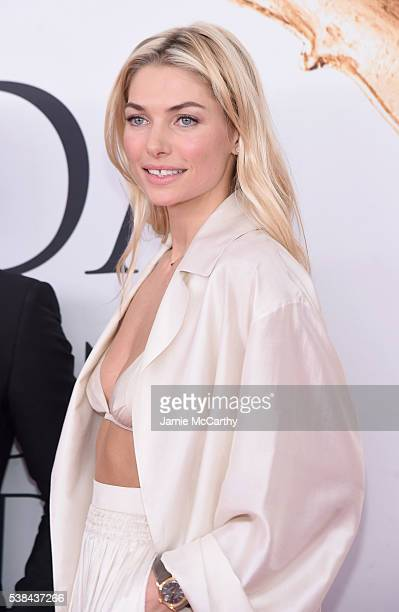 Model Jessica Hart attends the 2016 CFDA Fashion Awards at the Hammerstein Ballroom on June 6 2016 in New York City