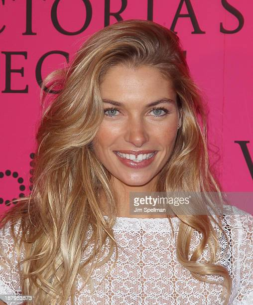 Model Jessica Hart attends the after party for the 2013 Victoria's Secret Fashion Show at TAO Downtown on November 13 2013 in New York City