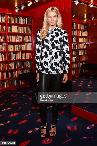 Model Jessica Hart attends the Sonia Rykiel Pre Spring 2017 Presentation at Sonia Rykiel Madison Boutique on June 7 2016 in New York City