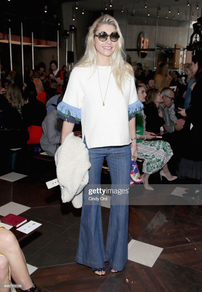 Tory Burch - Front Row - February 2017 - New York Fashion Week