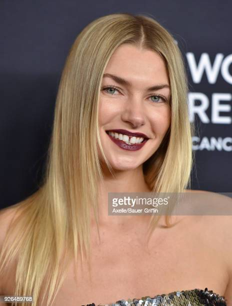 Model Jessica Hart attends Women's Cancer Research Fund's An Unforgettable Evening Benefit Gala at the Beverly Wilshire Four Seasons Hotel on...