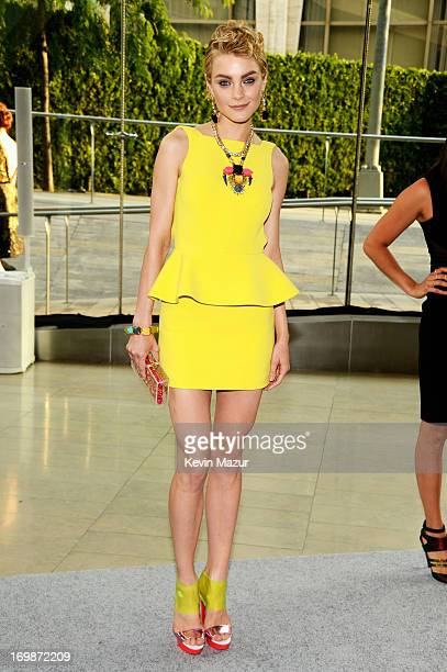 Model Jessica Stam attends 2013 CFDA Fashion Awards at Alice Tully Hall on June 3 2013 in New York City