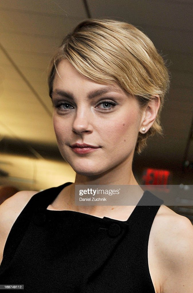 Model Jessica Stam attends the 2013 Commissions For Charity Day at BTIG on May 14, 2013 in New York City.