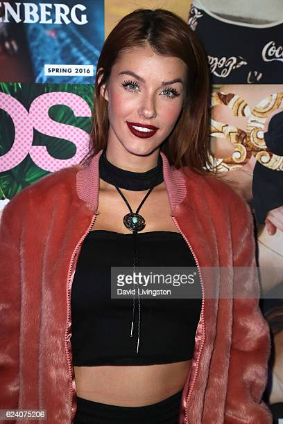 Model Jessica Vargas attends the launch of ASOS Magazine US Edition at The Sayers Club on November 17 2016 in Hollywood California