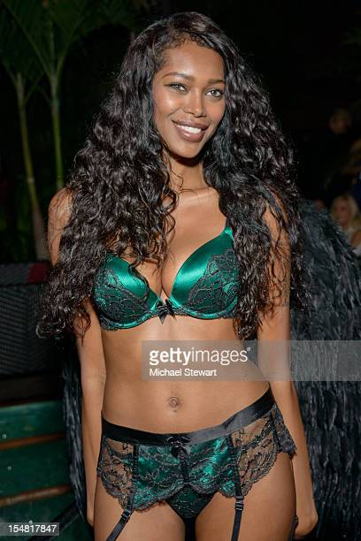 Model Jessica White attends Jessica White's Lingerie Halloween Party at DL on October 26 2012 in New York City