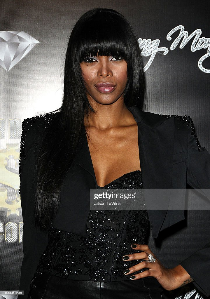 Model Jessica White attends the Cash Money Records annual Pre-Grammy Awards party at The Lot on February 12, 2011 in West Hollywood, California.