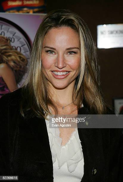 Model Jill Goodacre attends the premiere of Showtime's Fat Actress at Clearview Chelsea West Cinemas on March 2 2005 in New York City