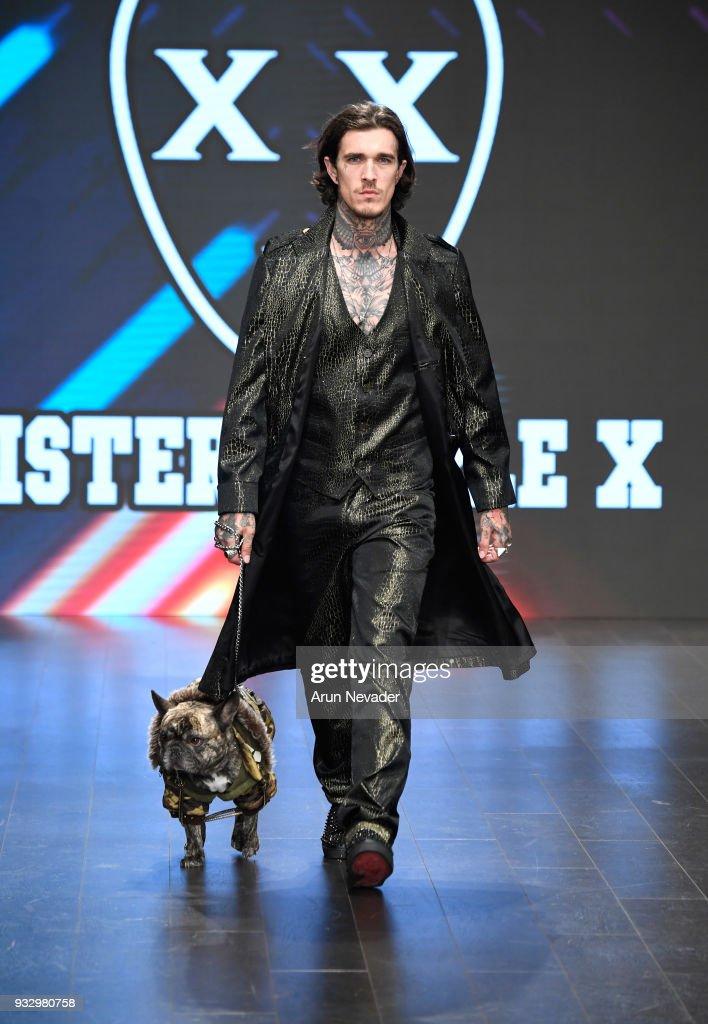 Mister Triple X at Los Angeles Fashion Week Powered by Art Hearts Fashion LAFW FW/18 10th Season Anniversary