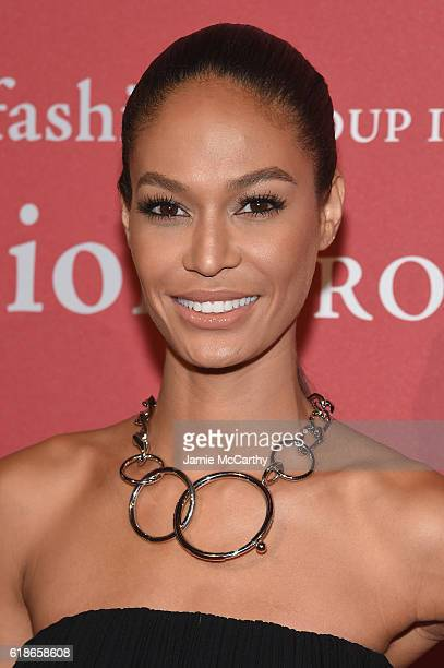 Model Joan Smalls attends 2016 Fashion Group International Night Of Stars Gala at Cipriani Wall Street on October 27 2016 in New York City