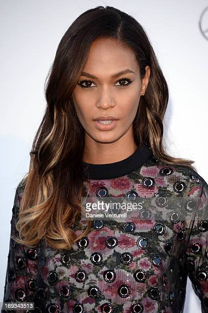 Model Joan Smalls attends amfAR's 20th Annual Cinema Against AIDS during The 66th Annual Cannes Film Festival at Hotel du CapEdenRoc on May 23 2013...