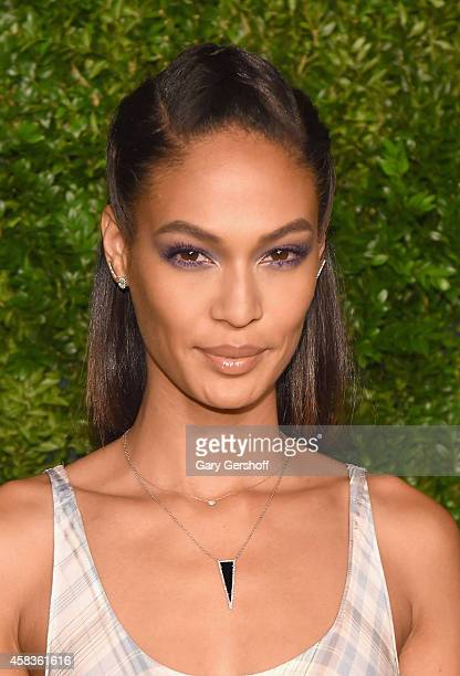 Model Joan Smalls attends The 11th Annual CFDA/Vogue Fashion Fund Awards at Spring Studios on November 3 2014 in New York City