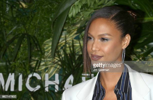 Model Joan Smalls attends the 11th Annual God's Love We Deliver Golden Heart Awards at Spring Studios on October 16 2017 in New York City
