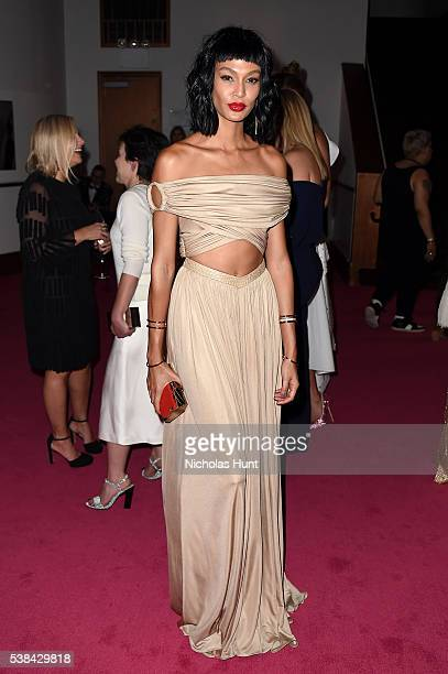 Model Joan Smalls attends the 2016 CFDA Fashion Awards at the Hammerstein Ballroom on June 6 2016 in New York City