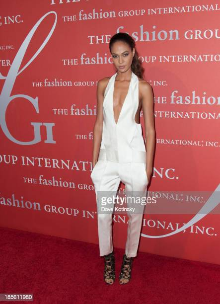 Model Joan Smalls attends the 30th Annual Night Of Stars presented by The Fashion Group International at Cipriani Wall Street on October 22 2013 in...