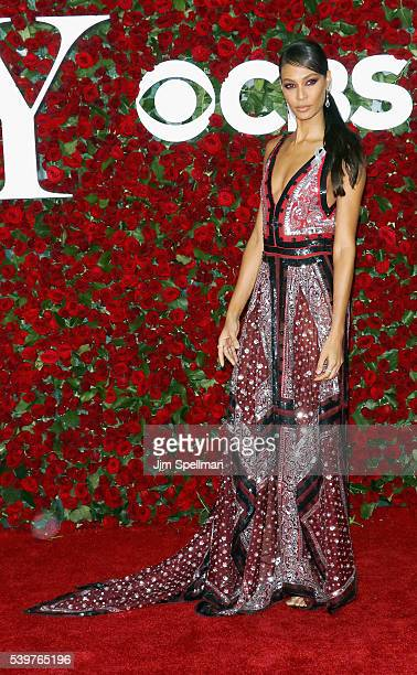 Model Joan Smalls attends the 70th Annual Tony Awards at Beacon Theatre on June 12 2016 in New York City
