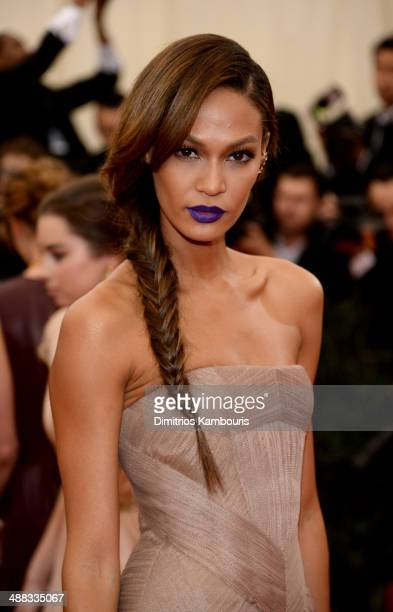 Model Joan Smalls attends the 'Charles James Beyond Fashion' Costume Institute Gala at the Metropolitan Museum of Art on May 5 2014 in New York City