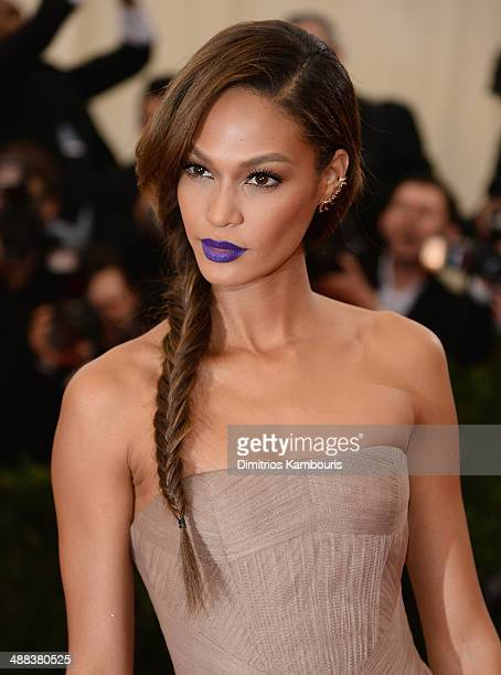 Model Joan Smalls attends the Charles James Beyond Fashion Costume Institute Gala at the Metropolitan Museum of Art on May 5 2014 in New York City