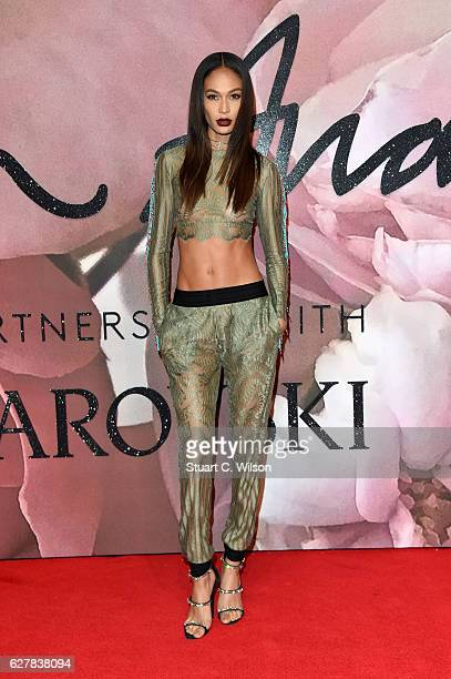 Model Joan Smalls attends The Fashion Awards 2016 on December 5 2016 in London United Kingdom