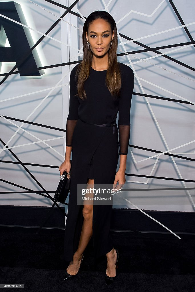 Model Joan Smalls attends the Museum of Modern Art Film Benefit's Tribute To Alfonso Cuaron at Museum of Modern Art on November 10, 2014 in New York City.